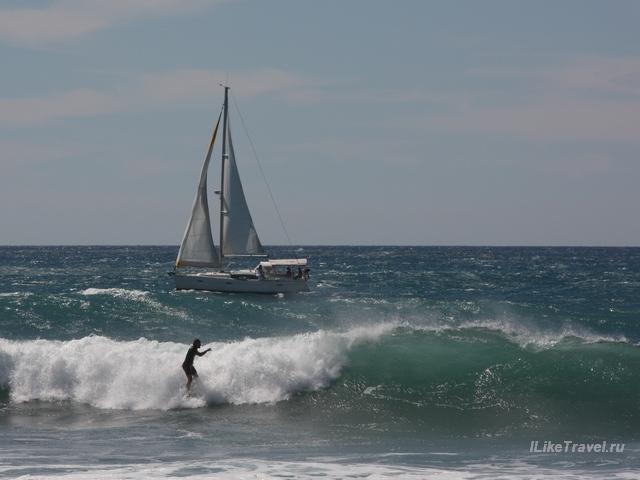 Серфинг на Гран Канарии