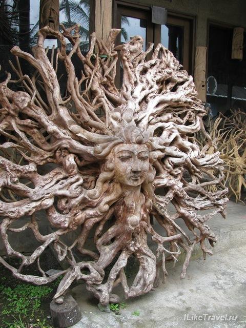 Изделия местных мастеров, Убуд, Бали