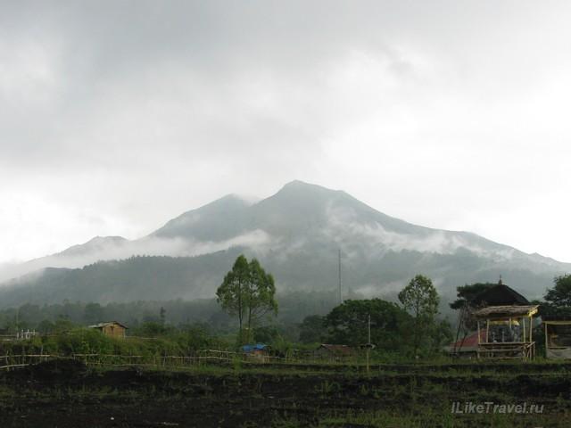 Вулкан Батур, Бали, Индонезия