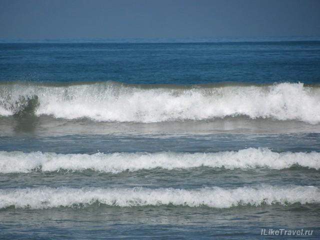 Океан в Куте, Бали, Индонезия