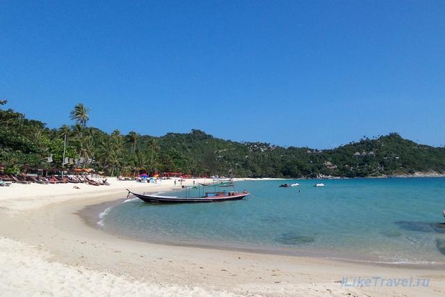 Пляж Тонг Наи Пан Нои на острове Панган