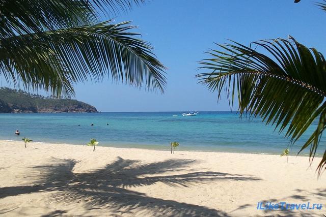 Лучшие пляжи острова Панган - Мае Хаад (Mae Haad)