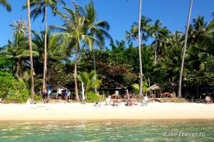 Пляж Талинг Нгам на острове Самуи