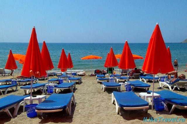 Городской пляж Алании