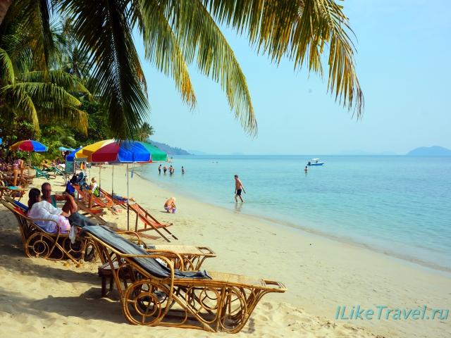 Пляж Кхонг Кои (Khong Koi) на острове Ко Chang