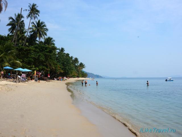 Пляж Кхонг Кои на острове Ко Чанг