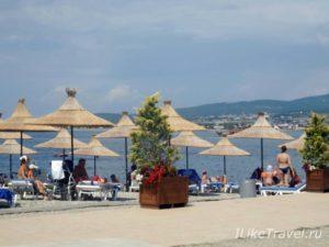 Пляж Кемпински Гранд Отель Геленджик